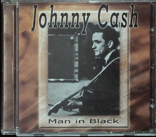 JOHNNY CASH  Man In Black  CD  ARENA