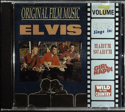ELVIS -  Film Music-Harum Scarum / Girl Happy / Wild In The Country -  CD  AJ