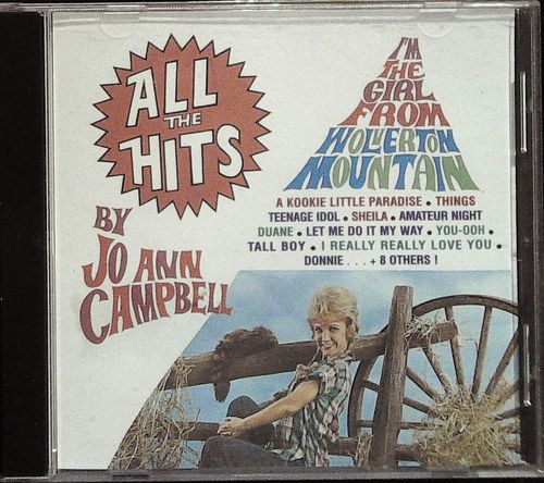 JO ANN CAMPBELL  All The Hits  CD  BAR