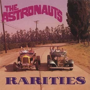 ASTRONAUTS  Rareties  CD  BEAR FAMILY