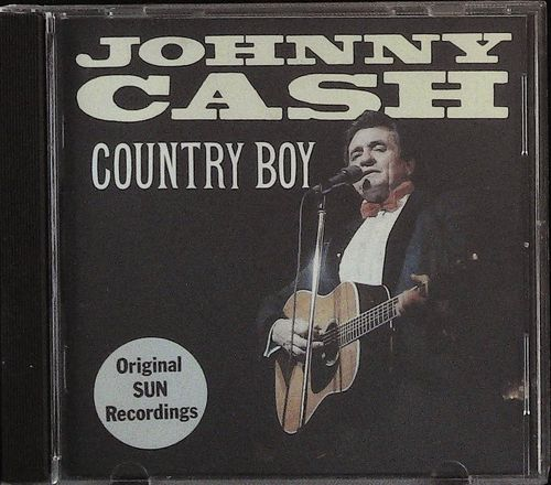 JOHNNY CASH  Country Boy (SUN)  CD  CHARLY
