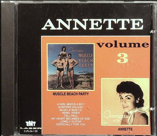 ANNETTE  Annette/Muscle Beach Party  CD  TNT
