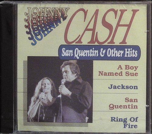 JOHNNY CASH  San Quentin & Other Hits  CD  DUCHESSE