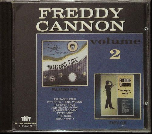 FREDDY CANNON  Palisades Park / Steps Out  CD  TNT