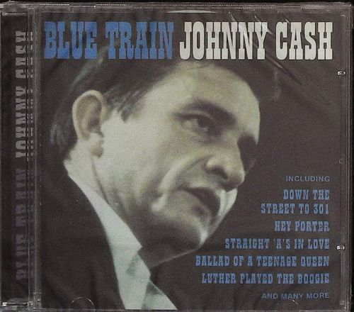 JOHNNY CASH  Blue Train  CD  DIGITAL