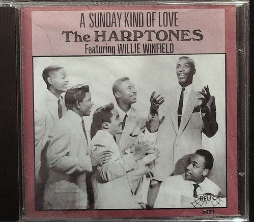 HARPTONES  A Sunday Kind Of Love  CD  RELIC
