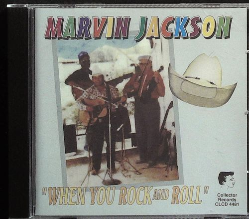 MARVIN JACKSON  When You Rock & Roll  CD  COLLECTOR