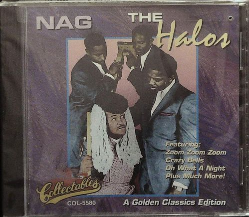 HALOS  Nag - Golden Classic Edition  CD  COLLECTABLES