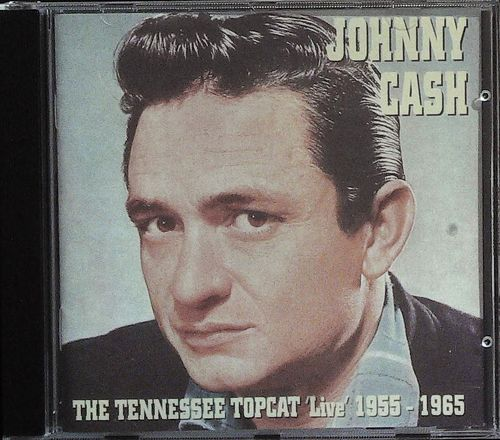 JOHNNY CASH  Tennessee Top Cat 1955-65  CD  COTTON TOWN