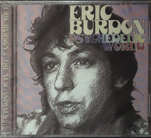 ERIC BURDON  Psychedelic World  CD  EDSEL