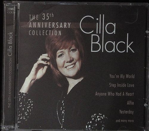 CILLA BLACK  35th Anniversary Collection  CD  EMI