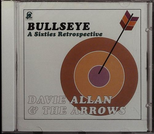 DAVIE ALLAN  Bullseye  CD  FUZZ