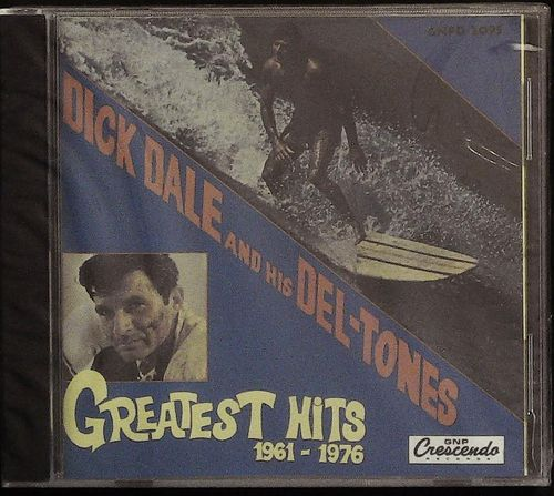 DICK DALE  Greatest Hits 1961 - 76  CD  GNP CRESCENDO