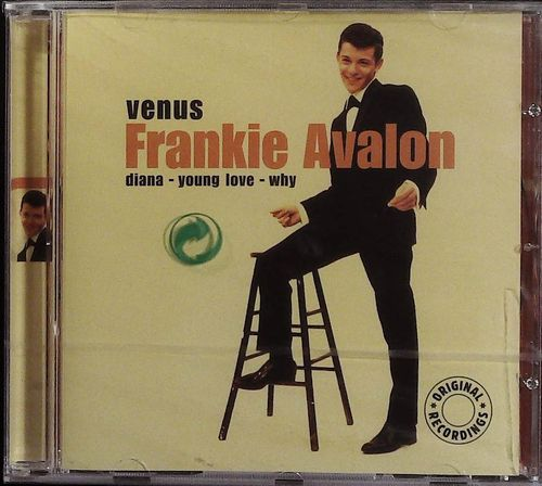 FRANKIE AVALON  Venus  CD  PURE GOLD