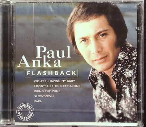 PAUL ANKA  Flashback  CD  PURE GOLD