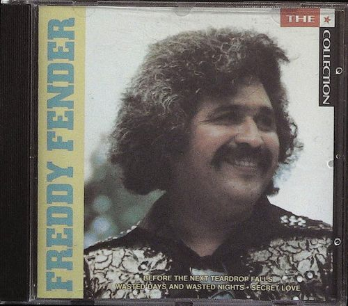 FREDDY FENDER  The Star Collection  CD  MCA