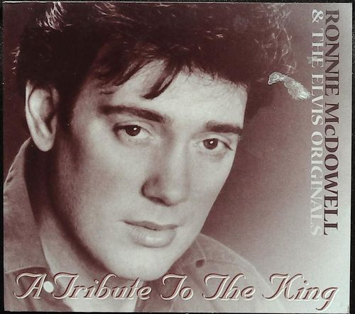 RONNIE MC DOWELL  Tribute To The King(S.Moore,DJ Font  CD  EUP