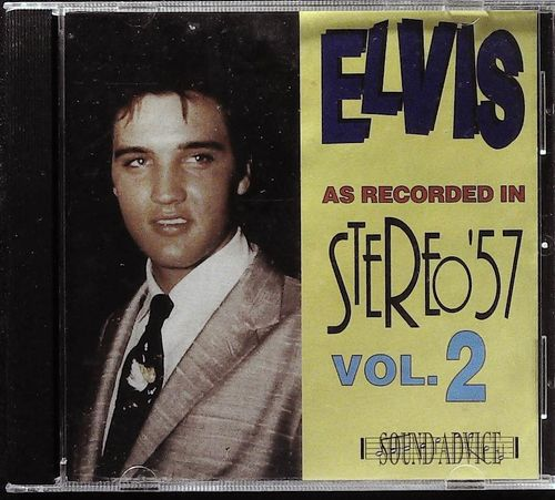 ELVIS PRESLEY  As Recorded In Stereo ´57,Vol.2  CD  SOUND ADVICE