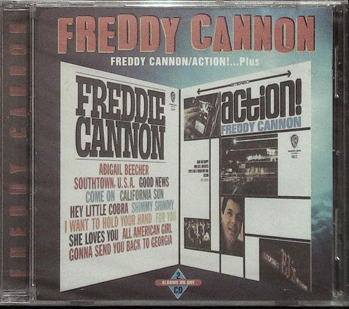 FREDDY CANNON  Action Plus  CD  SEE FOR MILES