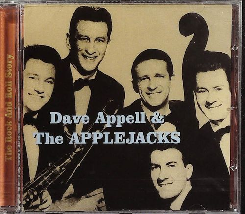 DAVE APPELL & THE APPLE JACKS  The Rock & Roll Story  CD  SPARKLETONE