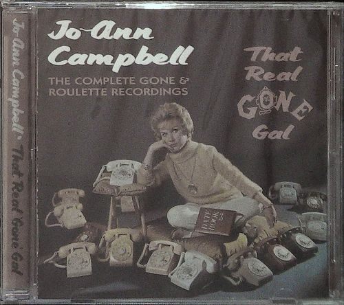 JO ANN CAMPBELL  That real GONE Gal  CD  WESTSIDE