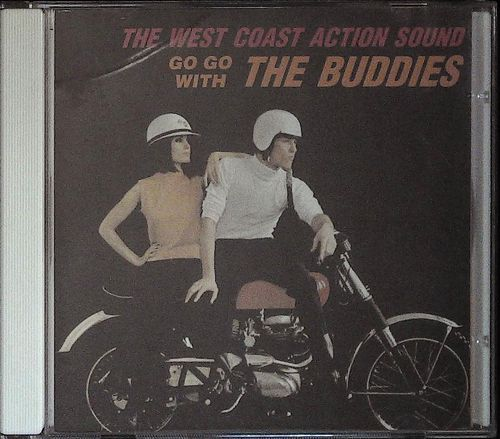 BUDDIES  Go Go With the Buddies  CD  SS