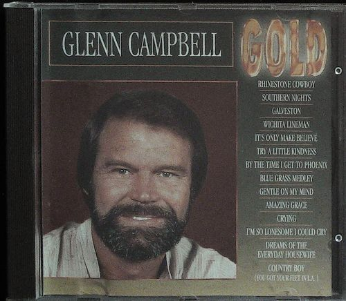 GLEN CAMPBELL  Gold  CD  GOLD