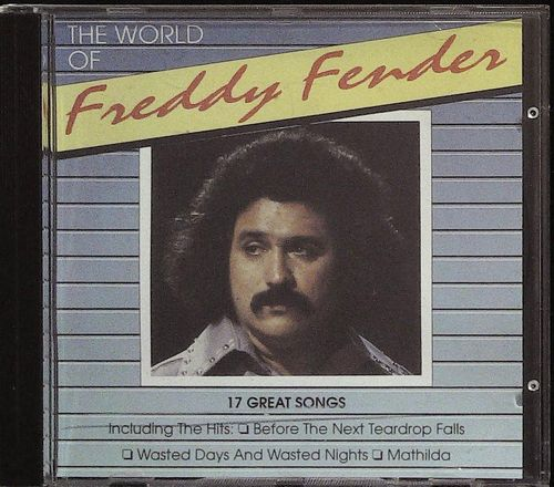 FREDDY FENDER  The World Of  CD  SPIRIT