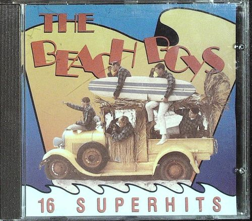 BEACH BOYS  16 Superhits  CD  DUCHESS