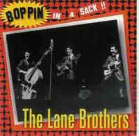 LANE BROTHERS  Boppinï In A Sack  CD  HYDRA