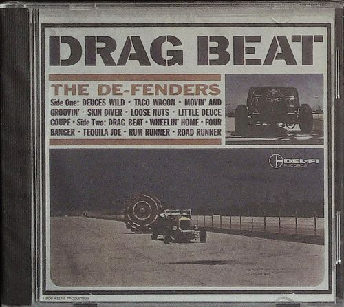 DE FENDERS  Drag Beat  CD  DEL FI
