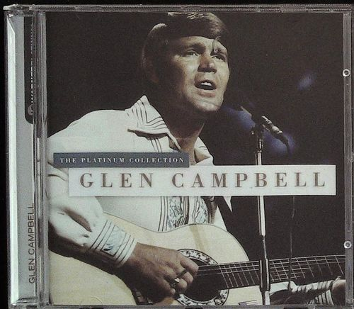GLEN CAMPBELL  Platinum Collection  CD  WARNER