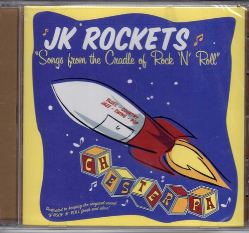 JOHNNY KAY - JK ROCKETS  Songs From The Cradle Of Rock & Roll (Ex-Comet)  CD  SCJ