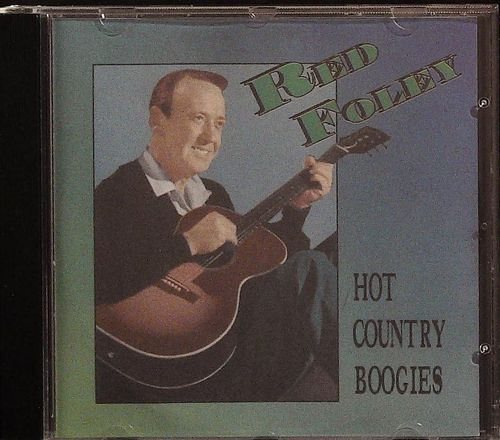 RED FOLEY  Hot Country Boogie  CD  ROCKATEER