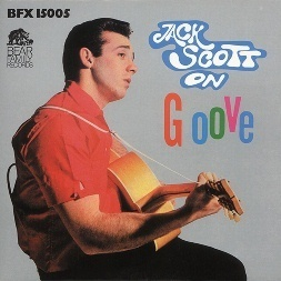 JACK SCOTT  On GROOVE  LP  BEAR FAMILY