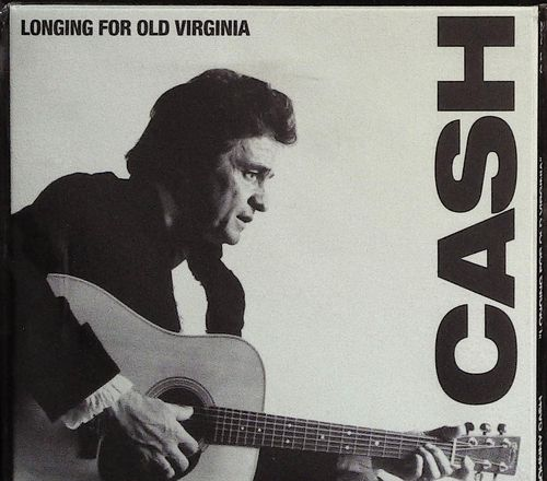 JOHNNY CASH  Longing for old Virginia  CD  GODFATHER