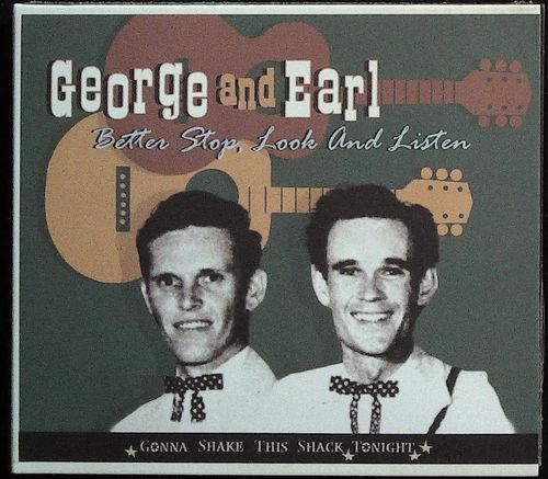GEORG & EARL  Better Stop,Look and Listen  CD  BEAR FAMILY