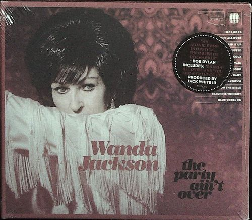 WANDA  JACKSON  The Party Ain´t Over (Signed to Michael) CD  NONESUCH