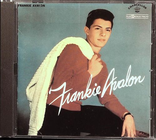 FRANKIE AVALON  Frankie Avalon (plus 10 Bonus Tracks)  CD  REPERTOIRE