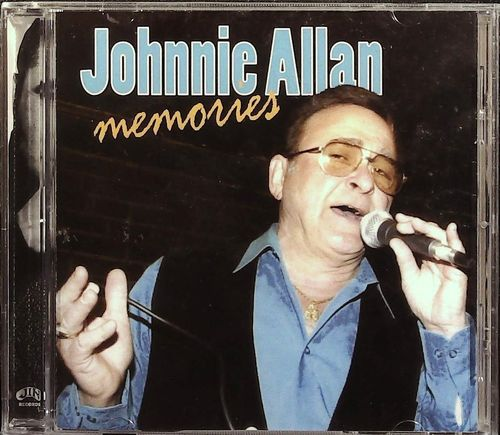 JOHNNIE ALLAN  Memories  CD  JIN