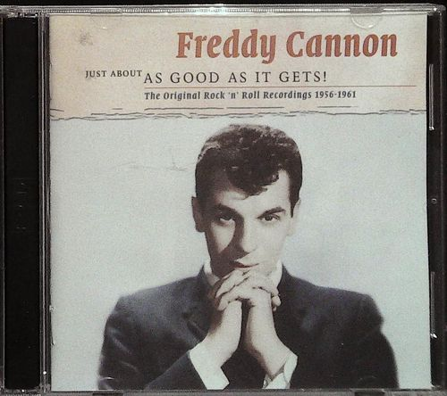 FREDDY CANNON  Just About As Good As It Gets  2 CD  SMITH