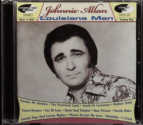 JOHNNIE ALLAN  Louisiana Man  CD  STOMPER TIME