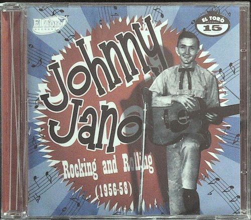 JOHNNY JANO  Rocking And Rolling  CD  EL TORO