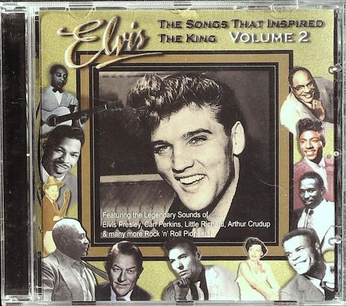 ELVIS PRESLEY  The Songs That Inspired The King 2  CD  HUSTLERZ