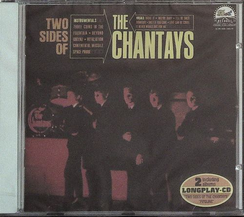 CHANTAYS  Two Sides Of Chantays/PIPELINE  CD  DOT