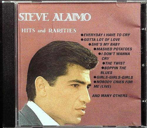 STEVE ALAIMO  Hits And Rarities  CD  MARGINAL