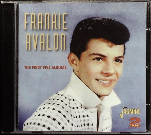 FRANKIE AVALON  The First Five Albums  - 2 CD  JASMINE