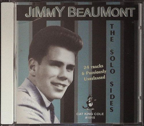 JIMMY BEAUMONT  The Solo Sides  CD  CAT KING COLE