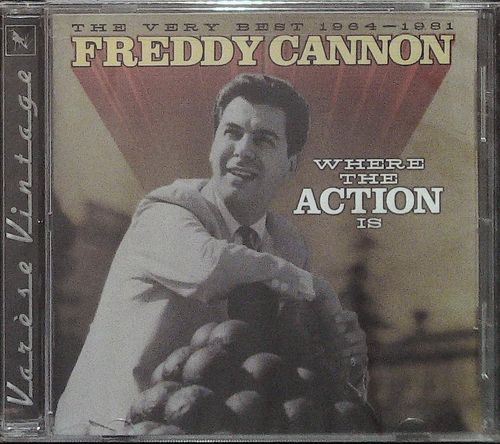 FREDDY CANNON  Where The Action Is  1964-81  CD  VARESE