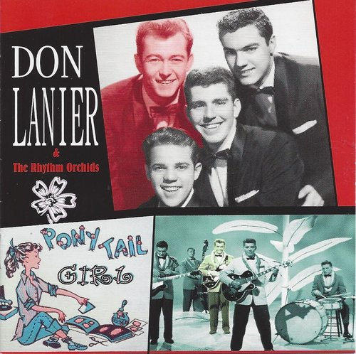 DON LANIER  Ponytail Girl   CD  HYDRA